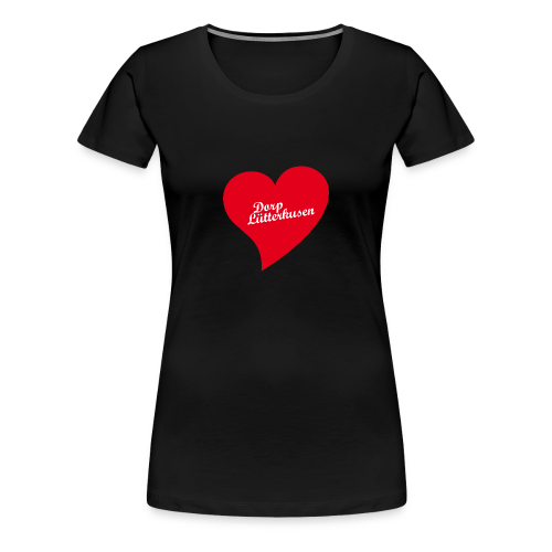 Dorp Lütterkusen - Herz - Frauen Premium T-Shirt