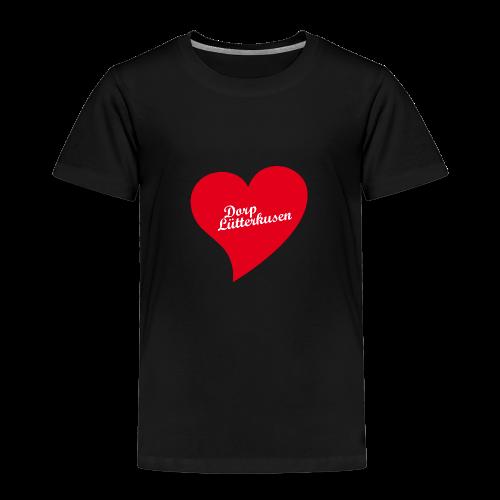 Dorp Lütterkusen - Herz - Kinder Premium T-Shirt