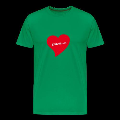 Lütterkusen - Herz - Männer Premium T-Shirt