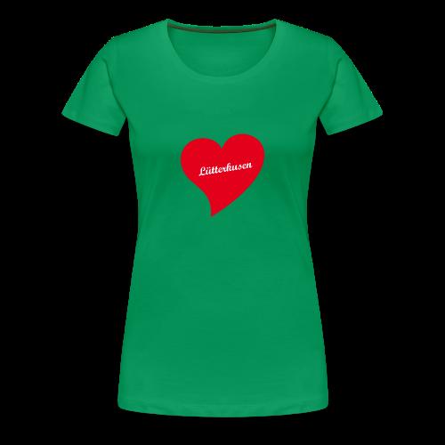 Lütterkusen - Herz - Frauen Premium T-Shirt