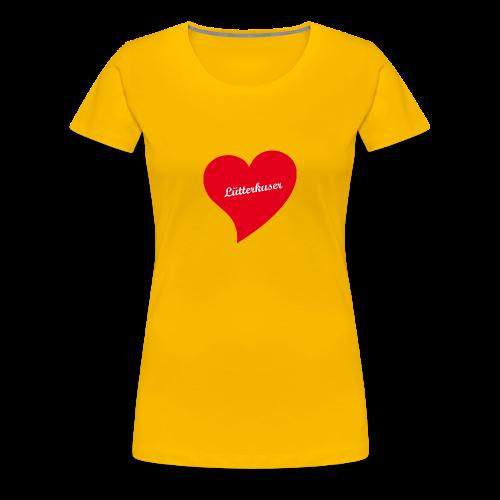 Lütterkuser - Herz - Frauen Premium T-Shirt