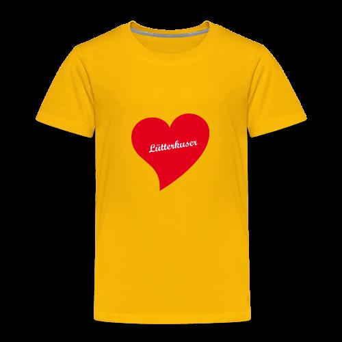 Lütterkuser - Herz - Kinder Premium T-Shirt