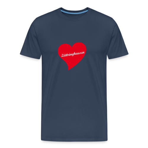 Lüttringhausen - Herz - Männer Premium T-Shirt