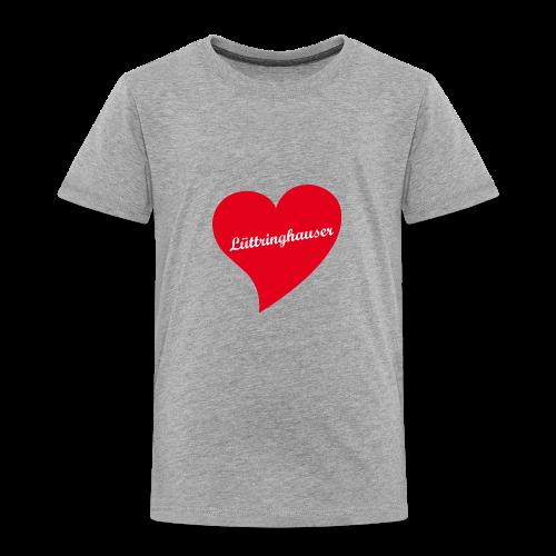 Lüttringhauser - Herz - Kinder Premium T-Shirt