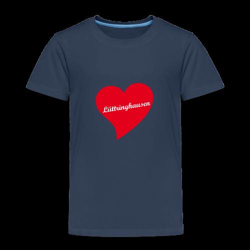 Lüttringhausen - Herz - Kinder Premium T-Shirt