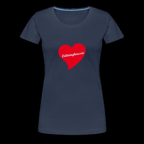 Lüttringhausen - Herz - Frauen Premium T-Shirt