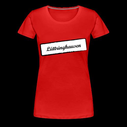 Stempel Lüttringhausen - Frauen Premium T-Shirt