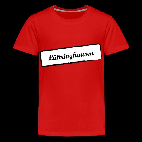 Stempel Lüttringhausen - Teenager Premium T-Shirt