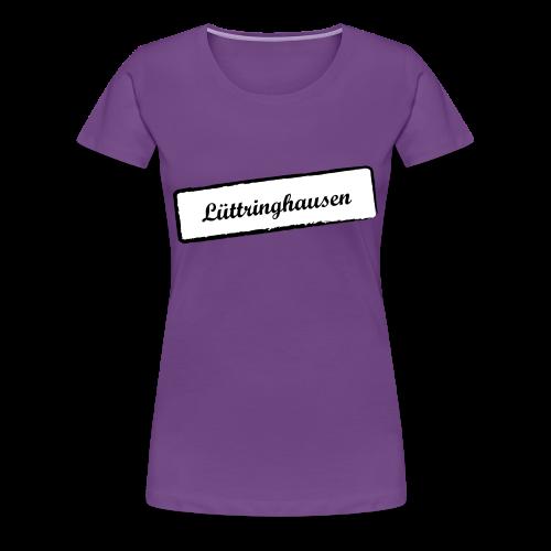 Stempel Lüttringhauser - Frauen Premium T-Shirt