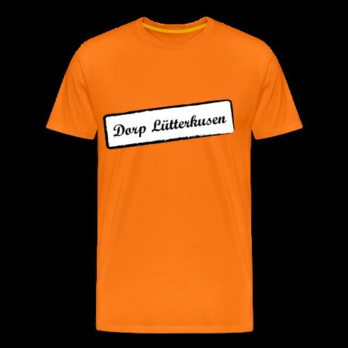 Stempel Dorp Lütterkusen - Männer Premium T-Shirt