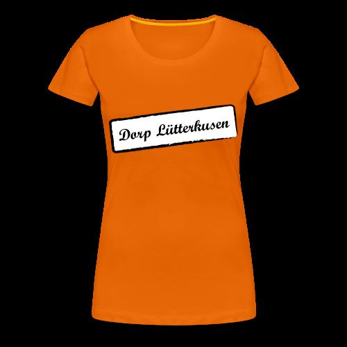 Stempel Dorp Lütterkusen - Frauen Premium T-Shirt