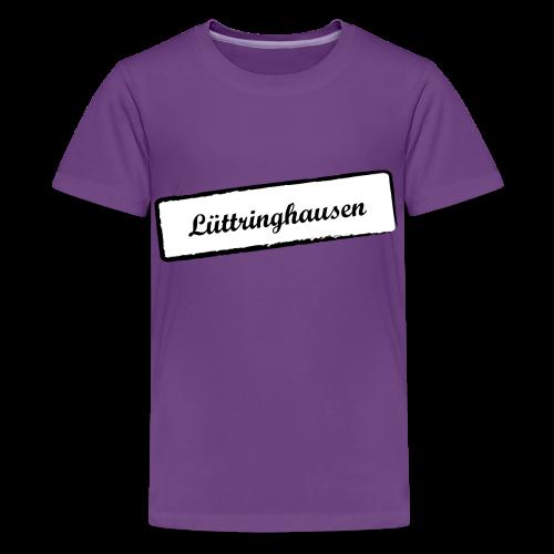 Stempel Lüttringhauser - Teenager Premium T-Shirt
