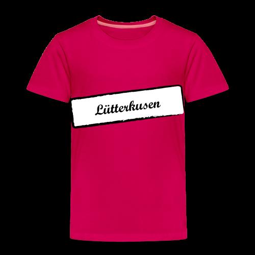 Stempel Lütterkusen - Kinder Premium T-Shirt