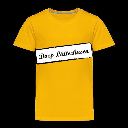 Stempel Dorp Lütterkusen - Kinder Premium T-Shirt