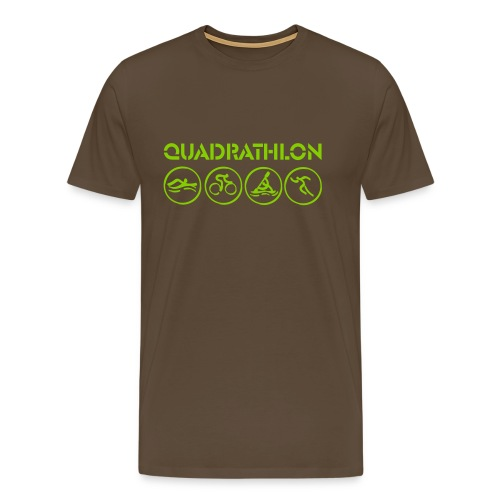Quadrathlon T-Shirt (various colors) - Men's Premium T-Shirt