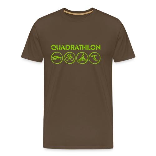 Quadrathlon T-Shirt (various colors) - Men's Premium T-Shirt