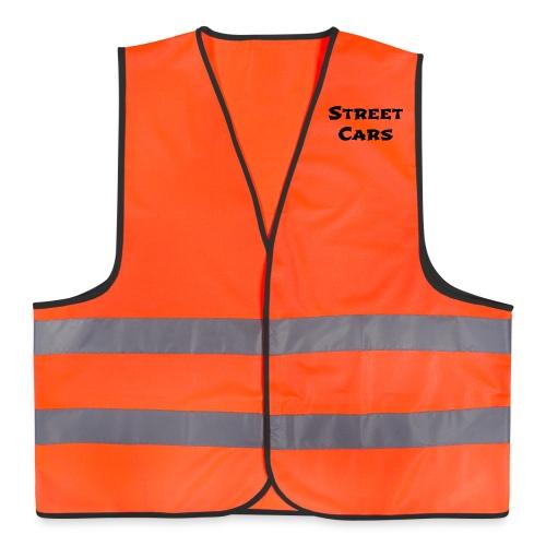 Street Cars - Veiligheidsvest (Zwart) - Veiligheidsvest