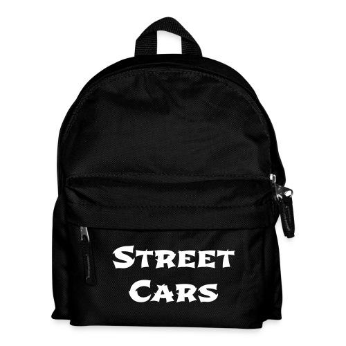Street Cars - Rugtas (Wit) - Rugzak voor kinderen
