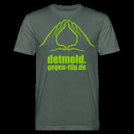 T-Shirts ~ Männer Bio-T-Shirt ~ Detmold gegen TTIP, CETA und TiSA