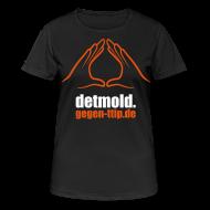T-Shirts ~ Frauen T-Shirt atmungsaktiv ~ Detmold gegen TTIP, CETA und TiSA