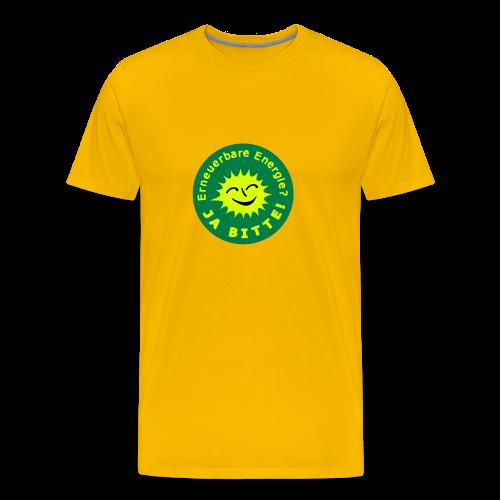 TIAN GREEN Shirts Men -  Erneuerbare Energie - Männer Premium T-Shirt
