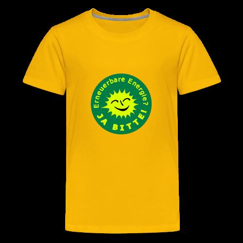TIAN GREEN Shirts Teen -  Erneuerbare Energie - Teenager Premium T-Shirt