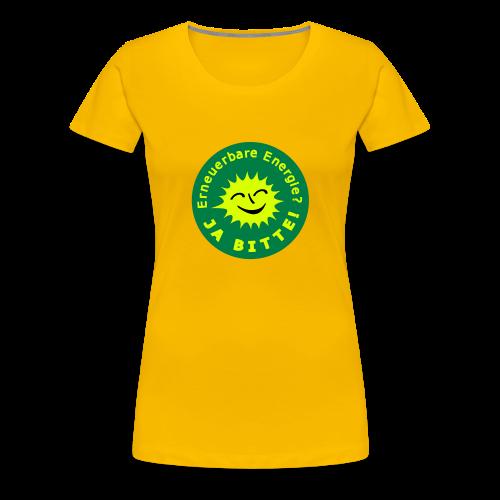 TIAN GREEN Shirts Women -  Erneuerbare Energie - Frauen Premium T-Shirt