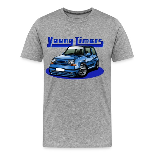 French'R Youngtimer Blue - T-shirt Premium Homme