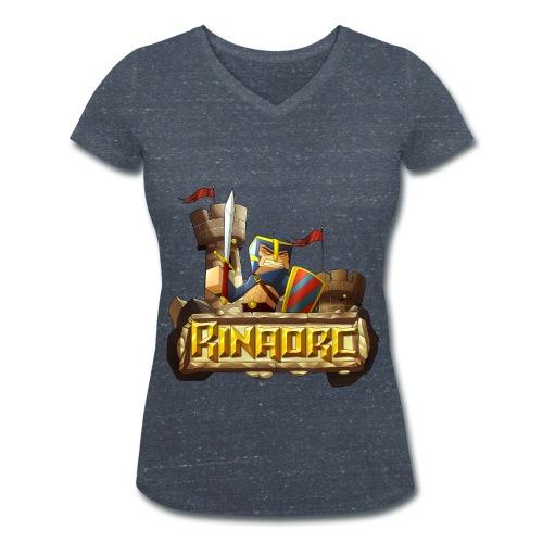 Tee shirt col V Femme - Rinaorc - T-shirt bio col V Stanley & Stella Femme