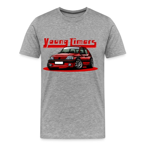 French'P Youngtimer Red - T-shirt Premium Homme