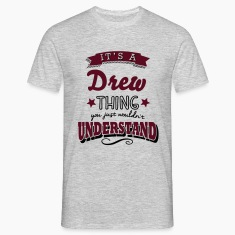 its a drew name surname thing