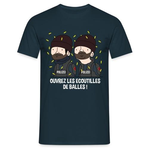 Les écoutilles de balles ! - T-shirt Homme