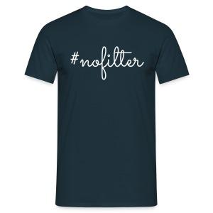 LK - #nofilter, M - Mannen T-shirt