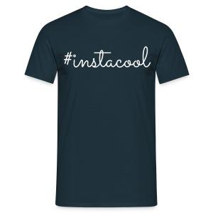 LK - #instacool, M - Mannen T-shirt