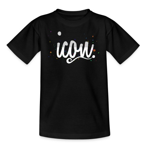 ICON. INVERSE CONFETTI TEE - Teenage T-shirt