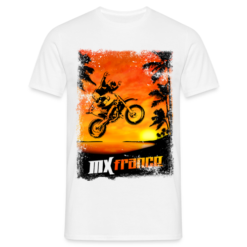 Sunset NoHands - T-shirt Homme