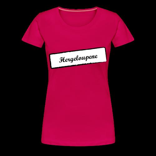 Stempel Hergeloupene - Frauen Premium T-Shirt