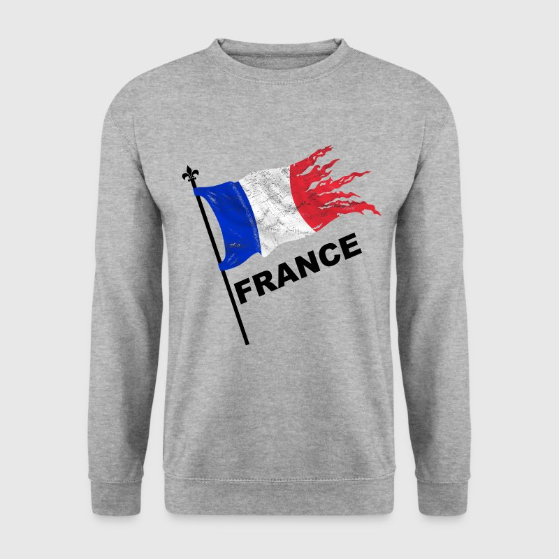 France drapeau Sweat-shirts - Sweat-shirt Homme