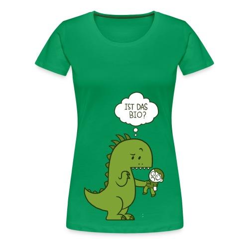 Bio-Dino - Frauen Premium T-Shirt
