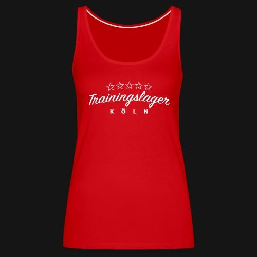 Trainingslager Top Women (rot) - Frauen Premium Tank Top