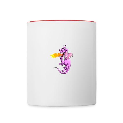 Tasse dragonet - Mug contrasté