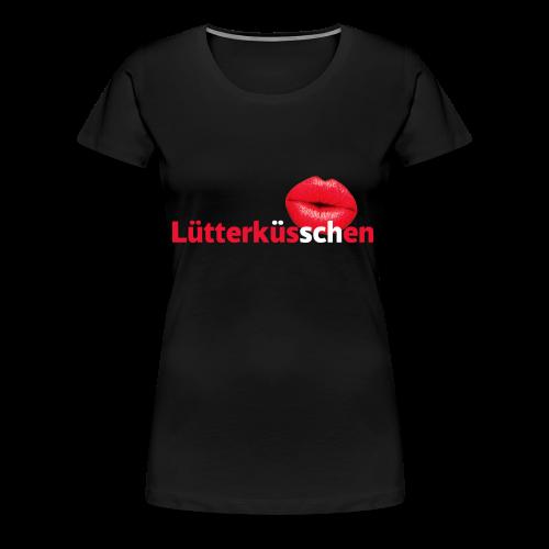 Lütterküsschen - Frauen Premium T-Shirt