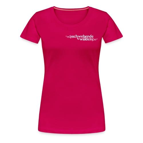 Schwebende Wälder - Shirt (Frauen) - Frauen Premium T-Shirt