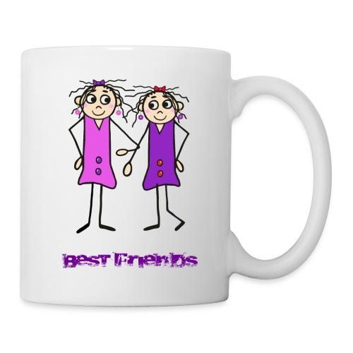 Beste Freundinnen - Tasse
