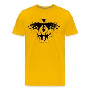 RORSCHACH schwarz - Männer Premium T-Shirt