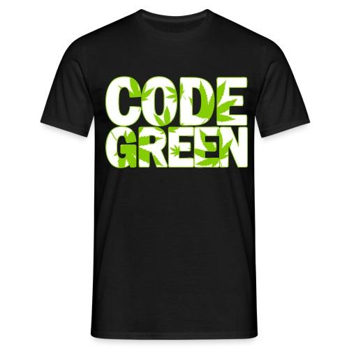 Code Green, Commander! - Männer T-Shirt