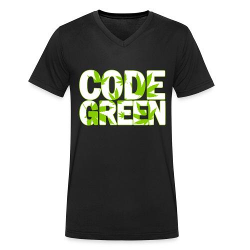Code Green, Commander! - Männer Bio-T-Shirt mit V-Ausschnitt von Stanley & Stella