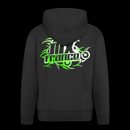 Tribal Lime Light - Veste à capuche Premium Homme