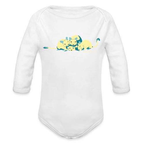 Kuschelhaufen - Baby Bio-Langarm-Body
