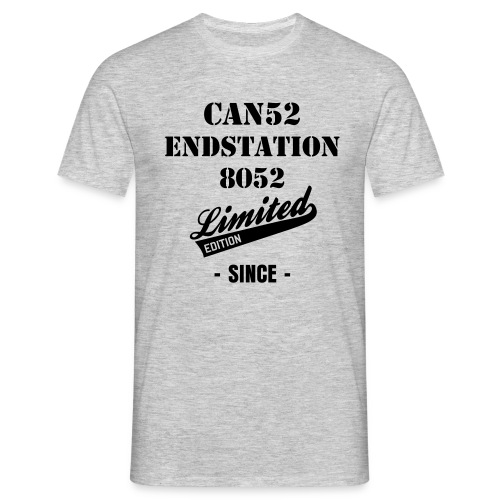 Can - Endstation - Männer T-Shirt